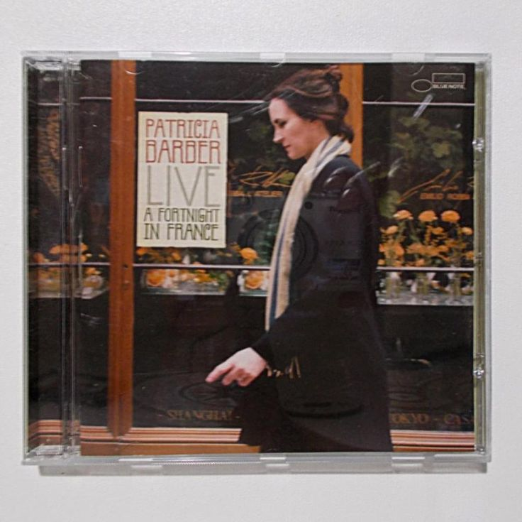 Patricia Barber Live A fortnight in France cd. Very good condition, disc scratch free. | eBay!