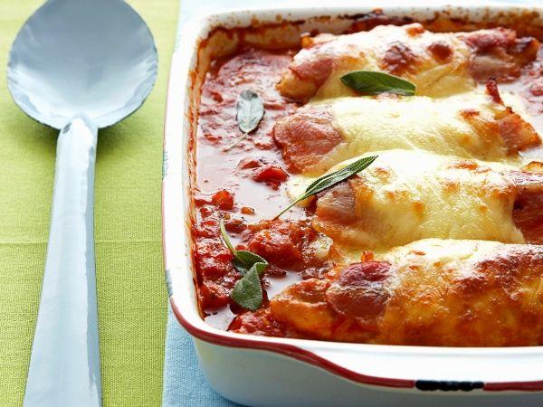 Gegratineerde kip met mozzarella - Libelle Lekker !