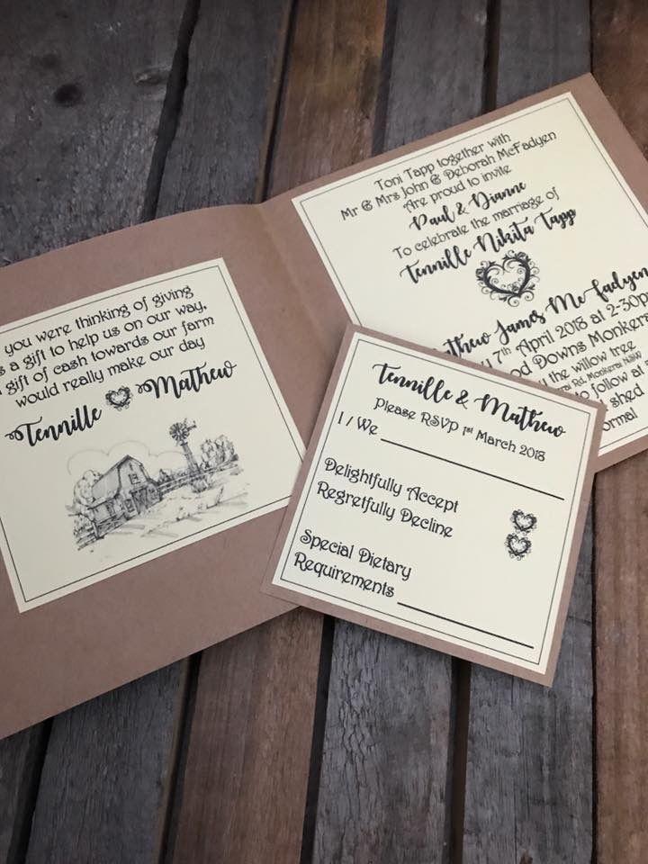Rustic wedding invitations The 282 best Wedding