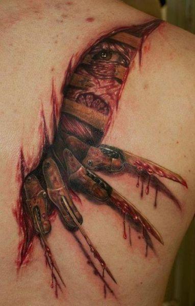 I love Freddy Krueger... This tattoo is the tits