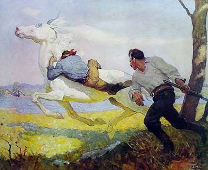 Blue Lock, The Queen by NC Wyeth for Sale - New Zealand Art Prints