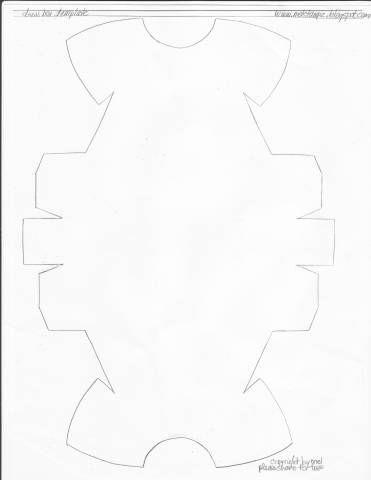 dress box template