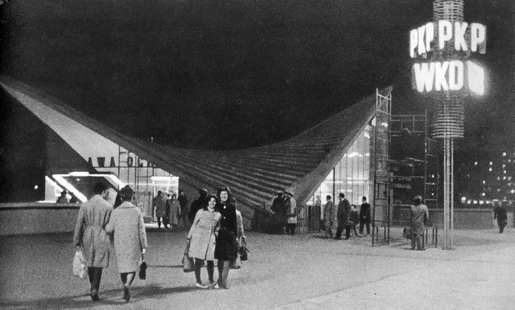 Arseniusz Romanowicz i Piotr Szymaniak, Dworzec kolejowy Warszawa Ochota, 1964