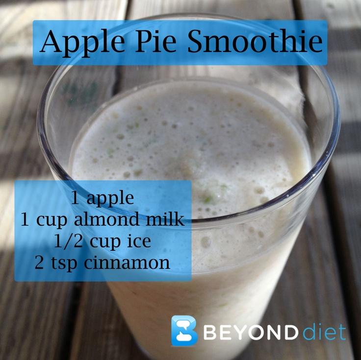 Apple Pie Smoothie #BeyondDiet #Recipes