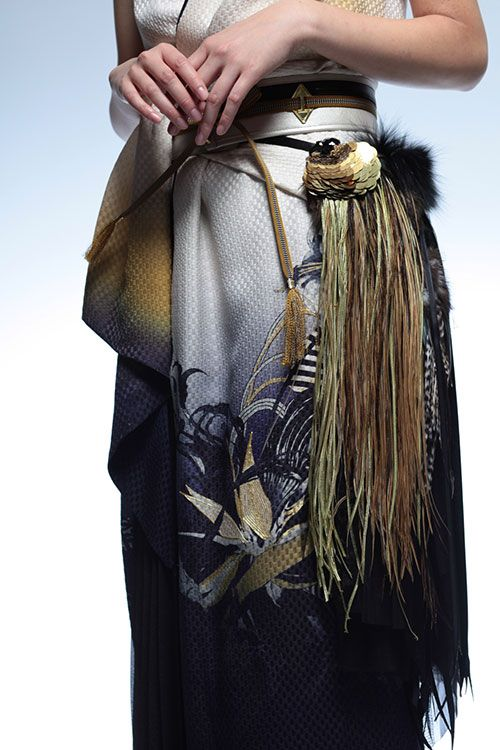 ソマルタが渋谷で、着物クチュールラインの受注販売会 - 新作ドレスやジャケットの写真2
