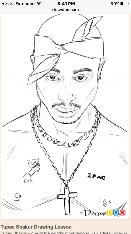 Tupac nose piercing   best Tupac Amaru Shakur images on Pinterest  Tupac shakur