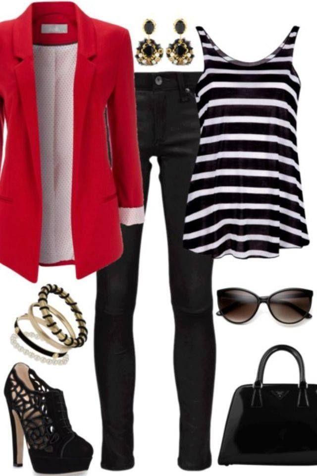 red blazer <3