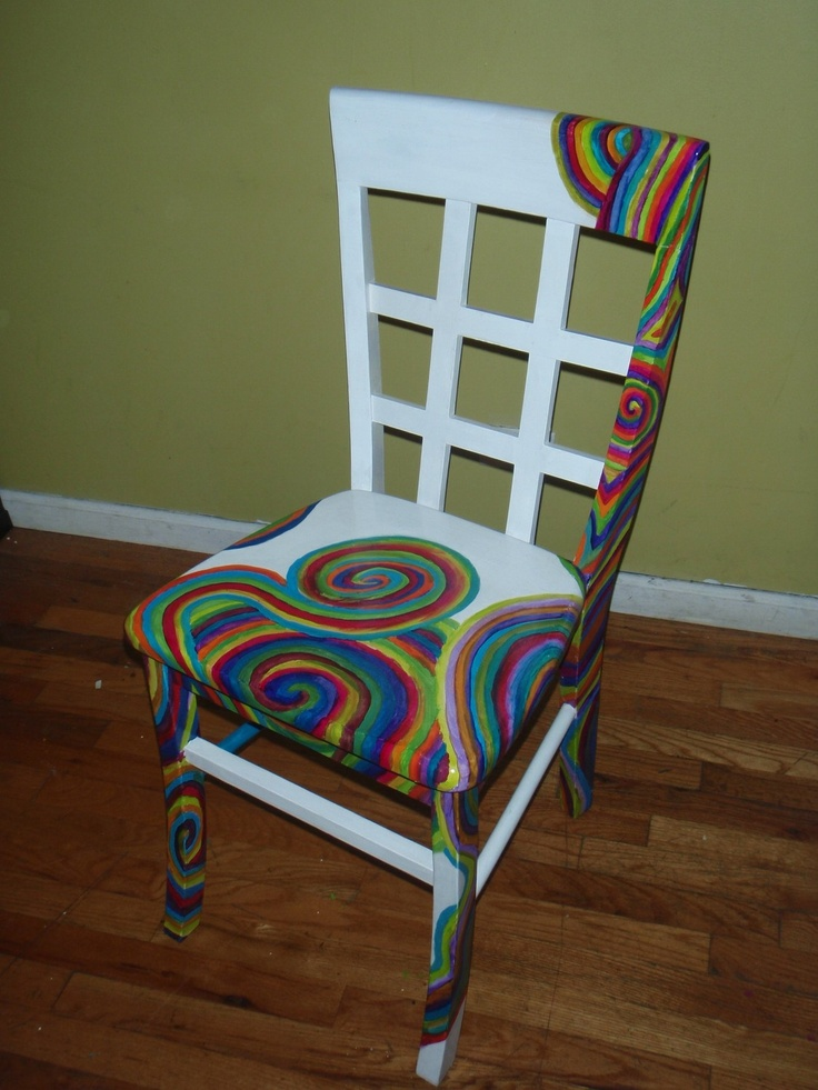 127 best tips and ideas for painting whimsical funky for Hand painted furniture ideas