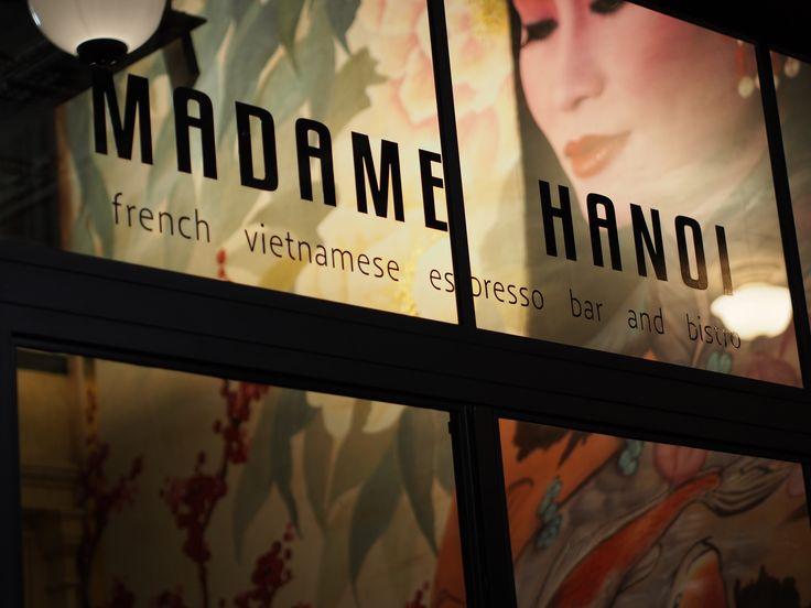 Madame Hanoi Restaurant, North Terrace, Adelaide