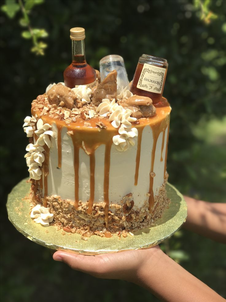 Toffee Drip Cake Recipe Uk