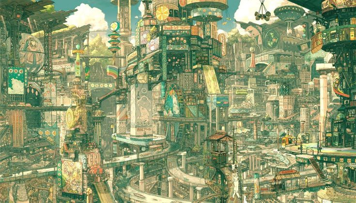 anime scenery wallpaper pictures 6395