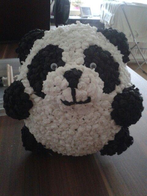 Pinata#selbst gemacht#panda