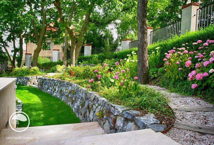 #landcape #architecture #garden #stairs #rockery #path