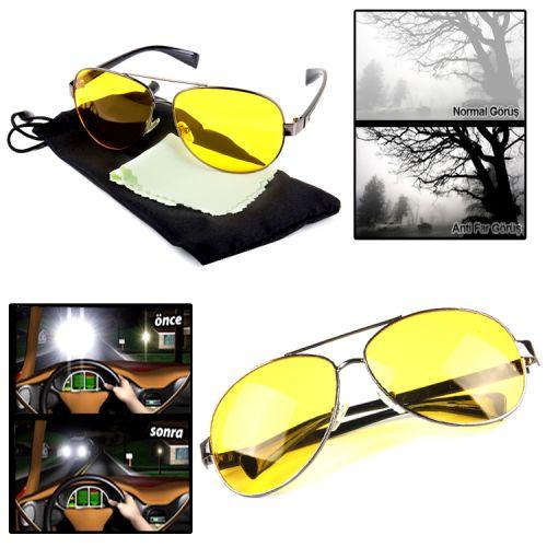 Yeni Trend Anti Far Ray-ban Model Gece Görüş Gözlüğü ::