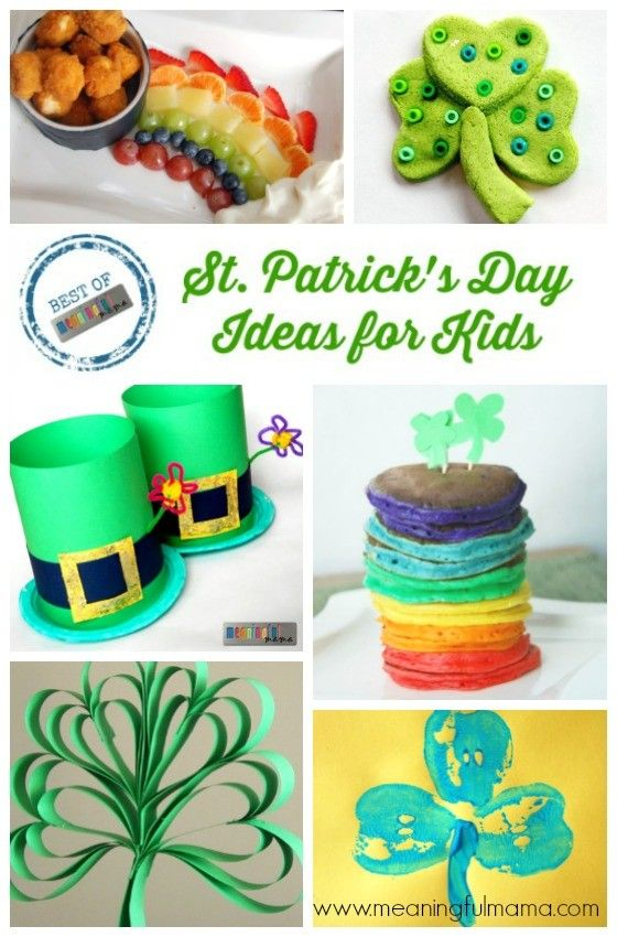 316 Best St Patricks Day Ideas For Kids Images On Pinterest