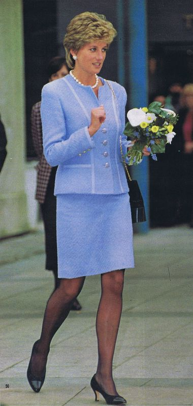 On February 28th in 1995 Princess Diana made a visit to Great Ormond Street Children's Hospital in London.