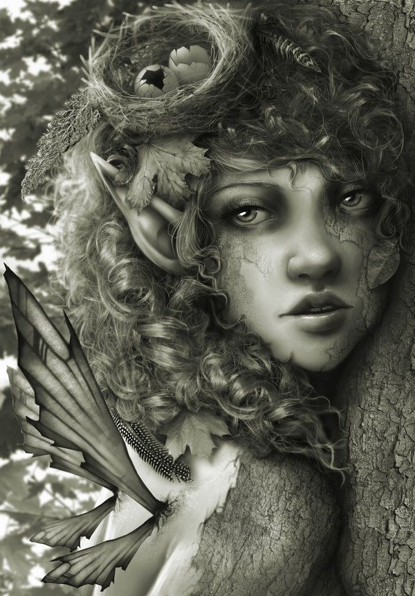 ✯ Forest Nymph .. By =RomanticFae*✯