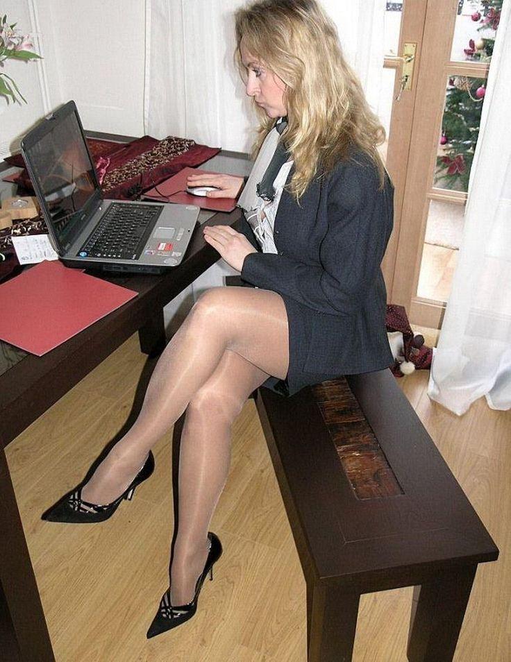 52 Best Secretary Images On Pinterest  Tights, Beautiful