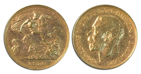 Officially, it's a Perth Mint coin that doesn't exist. Find out more about the 1918P Half Sovereign