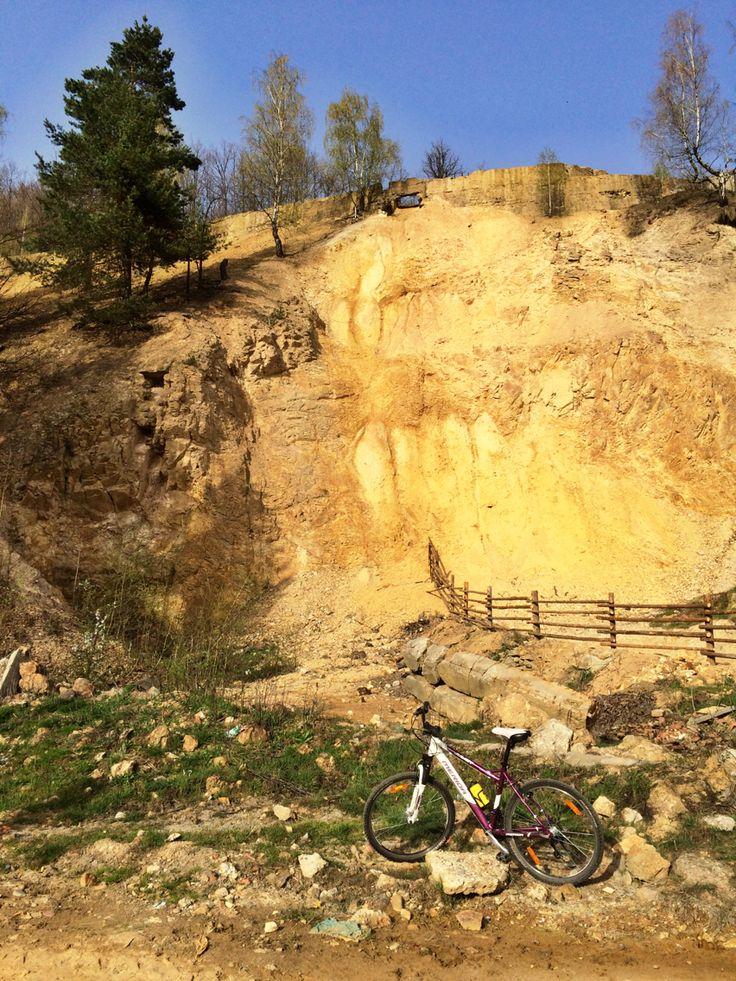 #newplaces #mountainbiking #roadcycling #lady #rocks #nature #spring