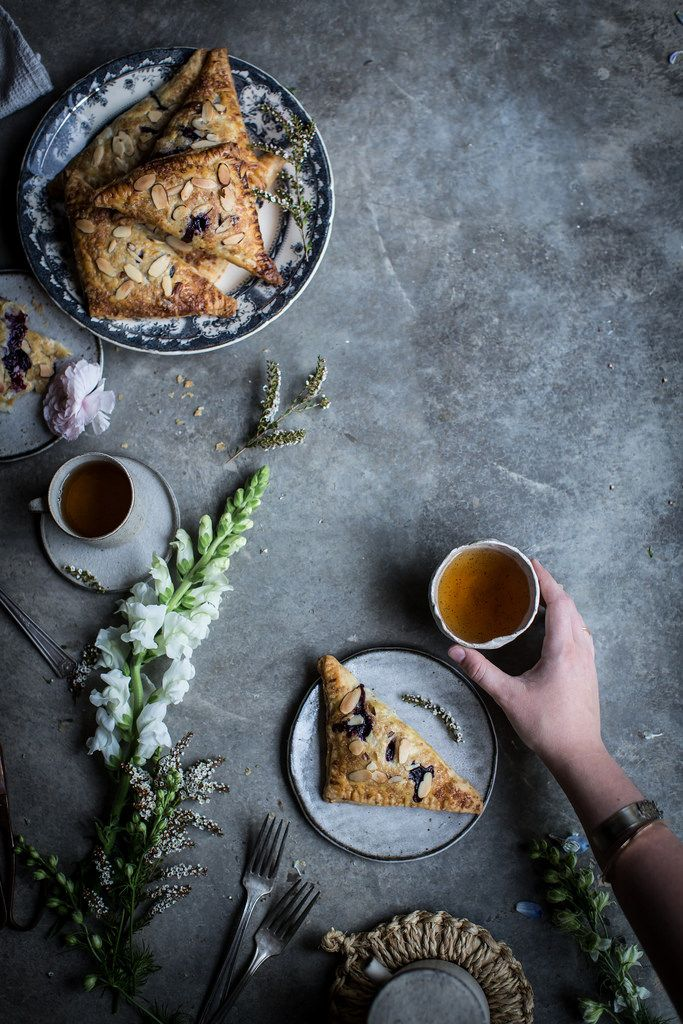 Local Milk | lavender blueberry & ricotta turnovers