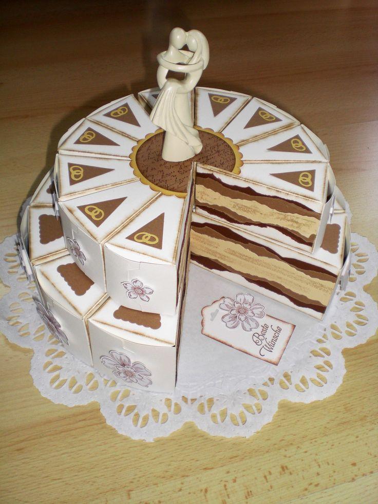 Papier Hochzeitstorte - Papiertorte - Wedding Paper Cake - Papercake