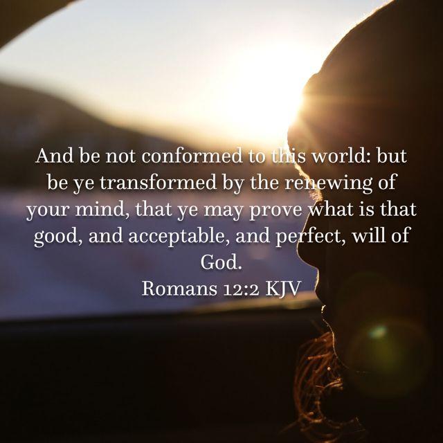 Romans 12 2 Bible Apps Kjv Praise God