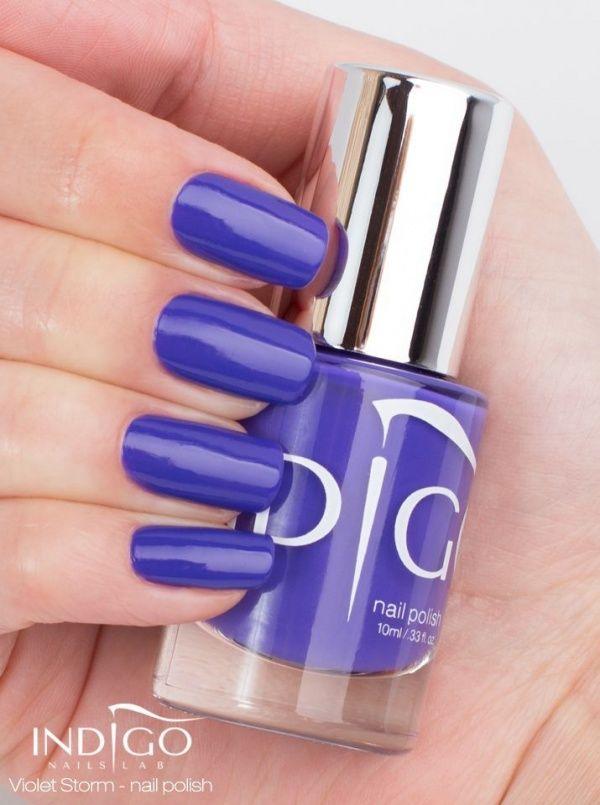 Violet Storm Lakier do paznokci 10ml | Indigo Nails