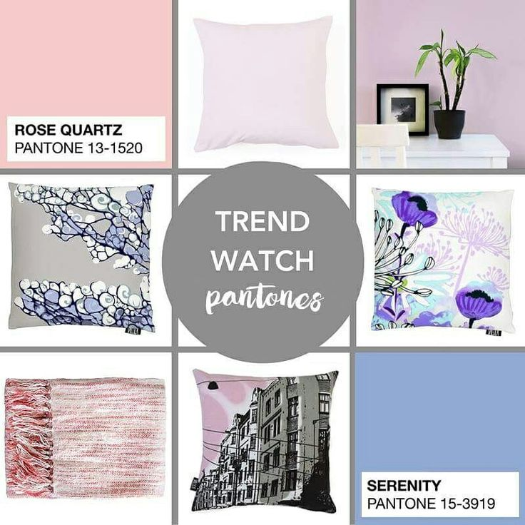 Pantone's Colours of the Year 2016 Rose Quartz and Serenity - Home Decor Trends Harvey Furnishings