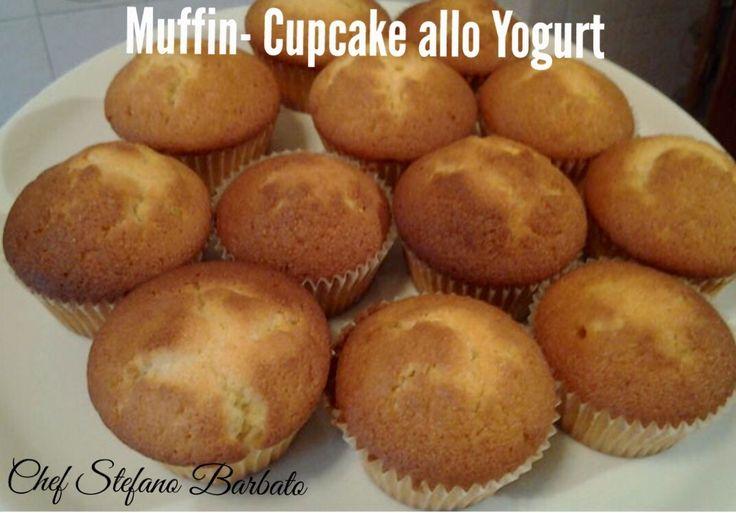 http://www.chefstefanobarbato.com/it/muffin-cupcake-allo-yogurt/ #Muffinalloyogurt #cupcakealloyogurt #yogurt #cupcake #muffin #Fattoincasa @BarbatoStefano