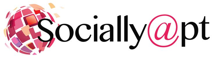 """Logo I designed for my up and coming new business """"Socially Apt"""""""