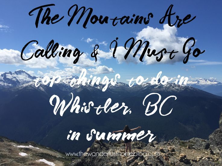Top things to do in Whistler, British Columbia (BC) in the summer. Reviews of Peak to Peak and Whistler Olympic Village.  (scheduled via http://www.tailwindapp.com?utm_source=pinterest&utm_medium=twpin&utm_content=post157930363&utm_campaign=scheduler_attr