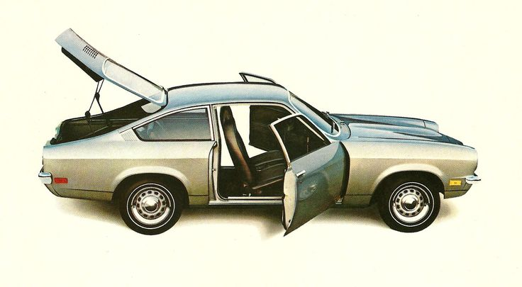 1970 Chevrolet Vega. My first car - needed 5 quarts of oil every week.