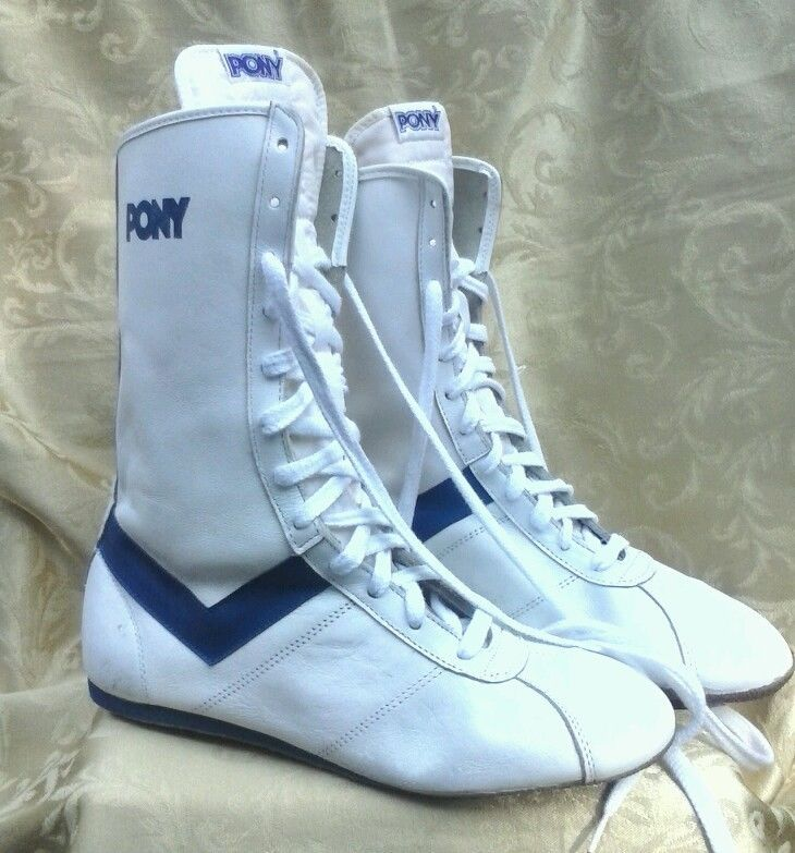 Vintage PONY shoes boots Boxing