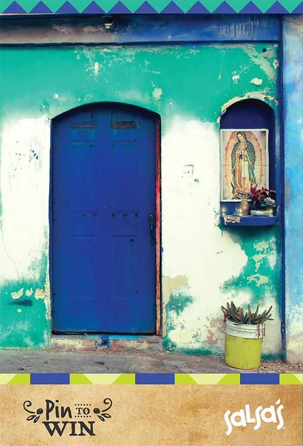 Azul Puerta  #mexico #lifestyle #photography #colour #pintowin