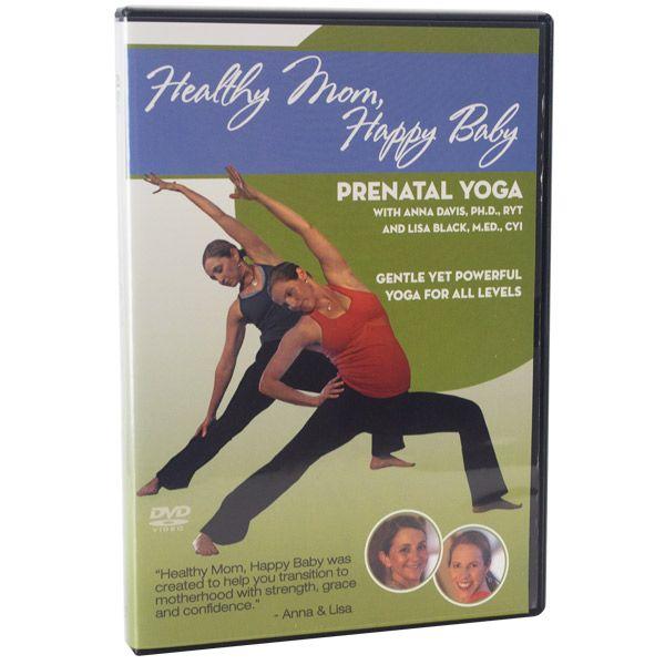 Healthy Mom, Happy Baby - Prenatal Yoga DVD