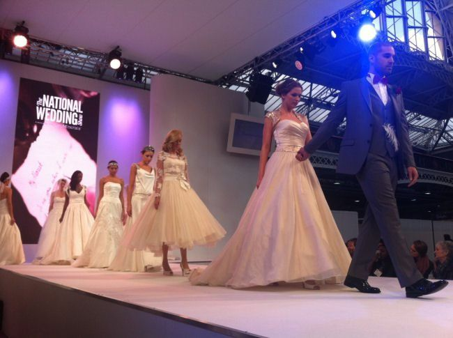 Blogging LIVE from The National Wedding Show London #NWS