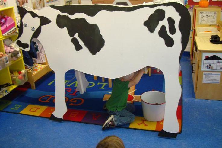 Classroom Cardboard Cow
