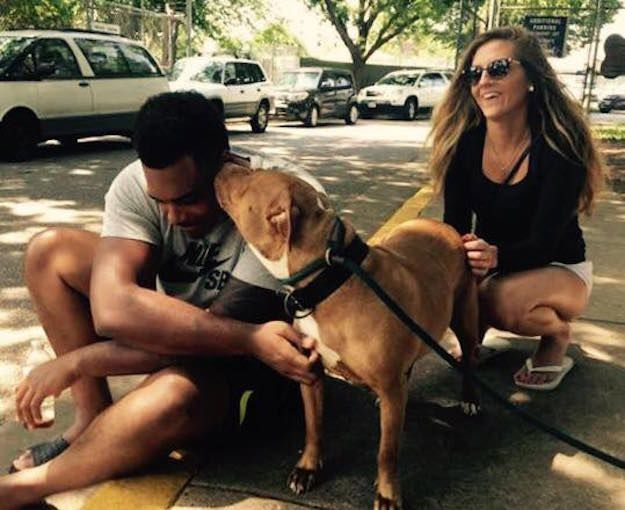 "Baltimore Ravens offensive tackle Ronnie Stanley scored a major touchdown with a local animal shelter and pet lovers alike when he took home a ""not-so-adoptable"" dog. 