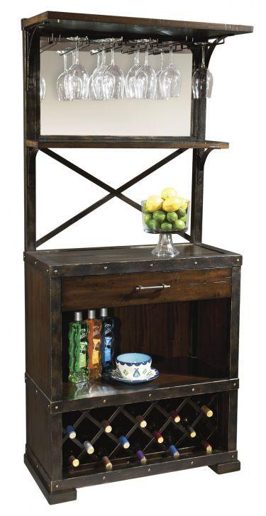 Red Mountain Wine & Bar Cabinet, Howard Miller, Wine & Bar Furniture