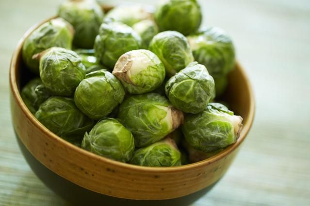 Cut them in quarters or shred them in a food processor. Heat a skillet with a little olive oil and add the Brussels sprouts, a sprinkling of salt and pepper, and a small amount of water. Cover and cook for 2 to 3 minutes, then remove the lid, stir and continue cooking until the water evaporates and the vegetables just start to brown. (Exact cooking times will vary with the amount of vegetable and the size of the pan used.) Garnish with crisp bacon or toasted nuts. The Brussels sprouts…