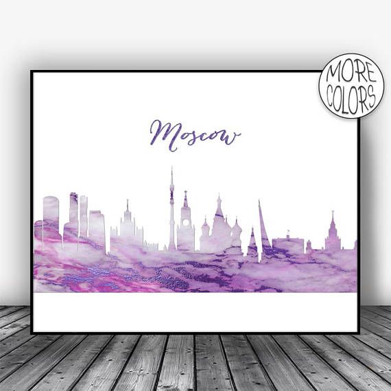 Moscow Print, Moscow Russia Art, Moscow Skyline, Office Wall Art City Skyline Prints, Skyline Art, Cityscape Art, ArtPrintsZoe #ArtPrintsZoe #Moscow #SkylinePrints #SkylineArt #MoscowRussia #CitySkyline #MoscowPrint #CityscapeArt #MoscowSkyline #OfficeWallArt
