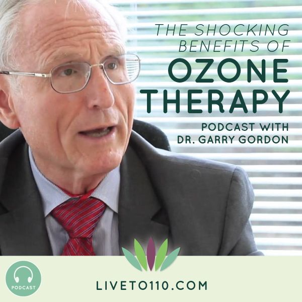 Pinner says:  Dr. Garry Gordon talks to me this week about ozone therapy. You will learn the exciting new possibilities using this kind of therapy and the most effective ways in which it's used. We're going to talk about ozone's use in water, creams, air ionizers and in enemas!  http://www.liveto110.com/70-shocking-benefits-ozone-therapy-dr-garry-gordon/