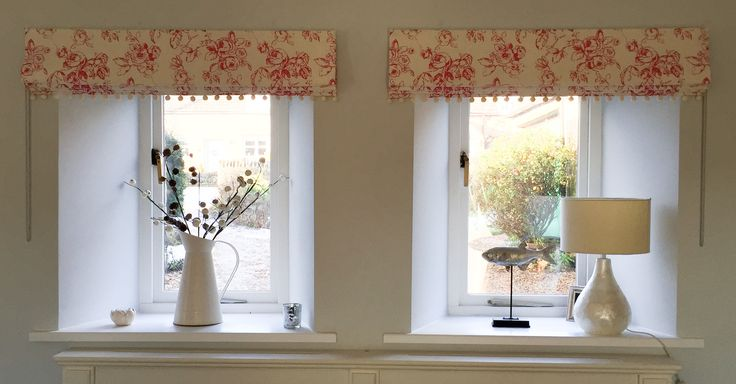 Interlined Roman Blinds In Delphine Linen By Clarke