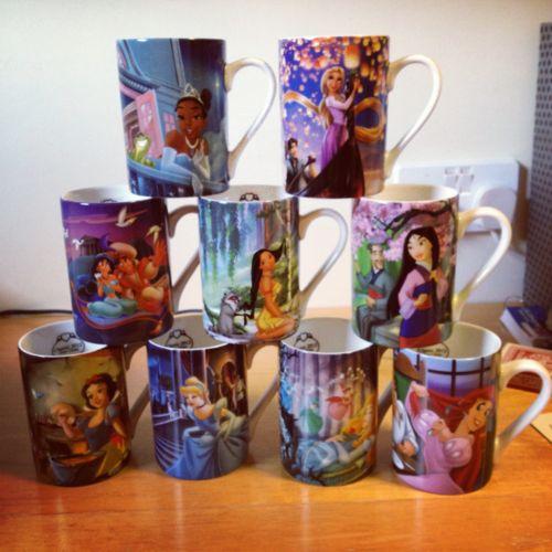 Disney Princess Mug. Can I have the Aladdin and pocahontas mug?? Please?????