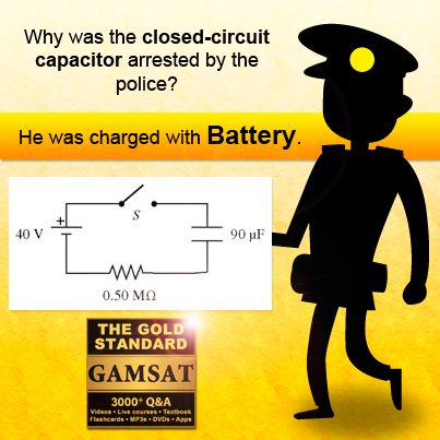 Why was the closed-circuit capacitor arrested by the police? He was charged with battery.