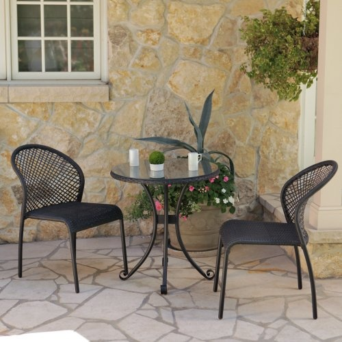 Find it at the Foundary - Negril Collection All-Weather Wicker Bistro Set$415.00