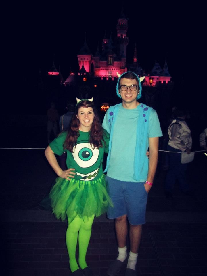fun and easy disney couples costume