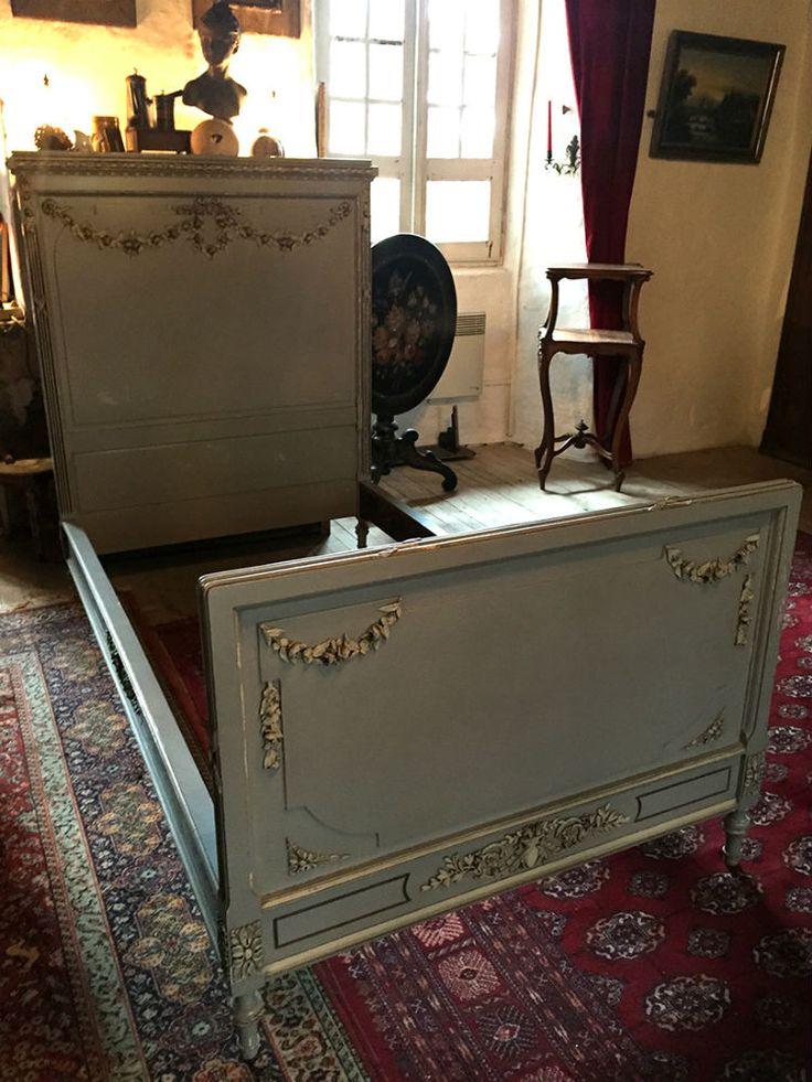 Magnifique lit de style louis xvi - Antiquaires en ligne ...