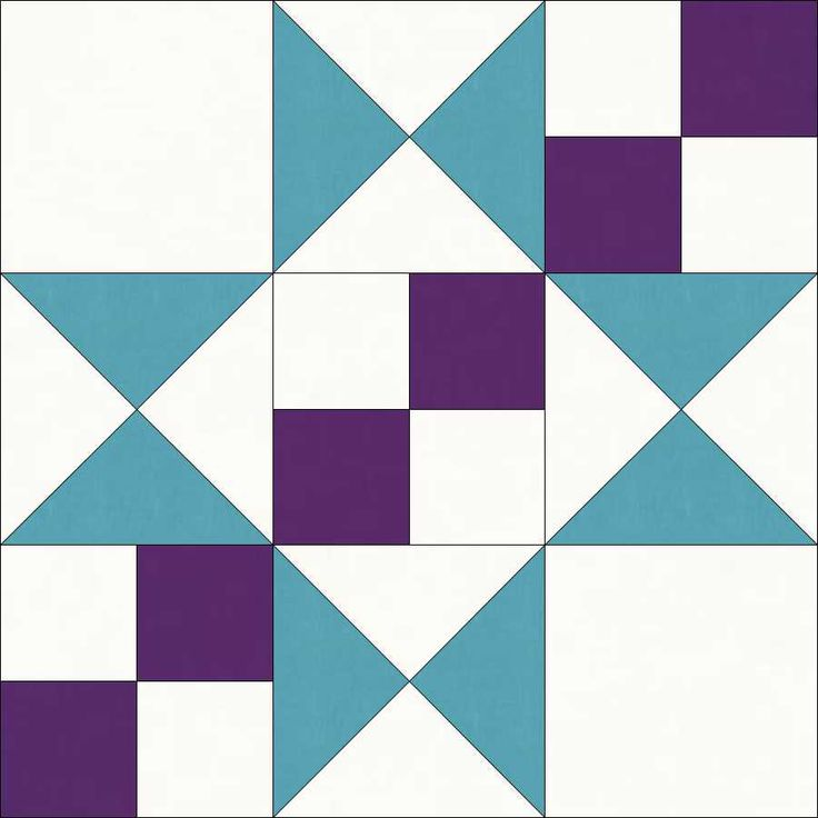 Free 10 Quilt Block Patterns | Traditional Patchwork Quilt Pattern and Tutorial (Part 11) | Oh Sew ...